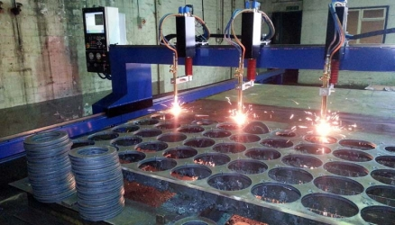CNC Oxy Fuel Cutting