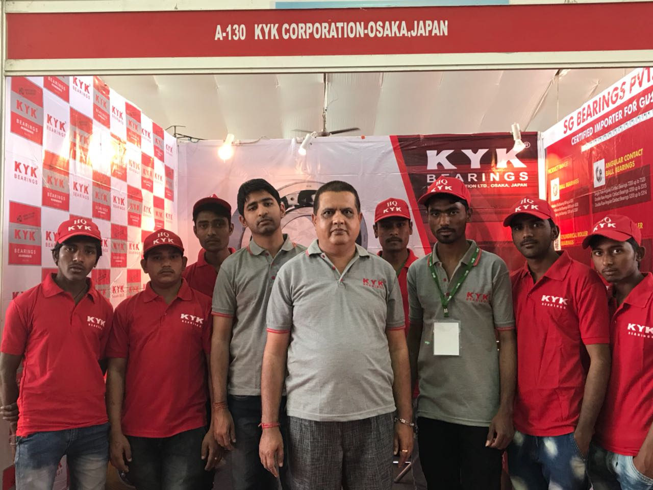 KYK Bearings at Engi Expo 2018