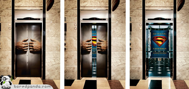 Now Elevator Can be SuperMan